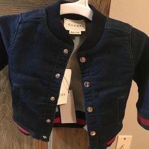 d3c71641d Gucci Jackets & Coats | Baby Boy Soft Denim Jacket Jeans 1824 M ...